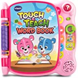 VTech 80-141650 Touch and Teach Word Book Amazon Exclusive, Pink