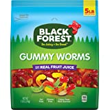 Black Forest Gummy Worms Candy, 5 Pound, Pack of 1