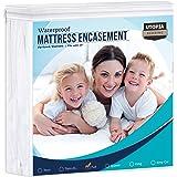 Utopia Bedding Zippered Mattress Encasement - Bed Bug Proof, Dust Mite Proof Mattress Cover - Waterproof Mattress Protecter (
