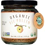 GREENBOW Organic Bee Pollen - 100% USDA Certified Organic, Pure, & Natural Bee Pollen - Superfood Packed with Proteins, Vitam