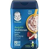 Gerber Hearty Bits MultiGrain Banana Apple Strawberry Cereal, 227g