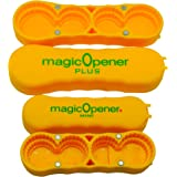 NEW - magic Opener COMBO | Bottle Opener | Twist-off - Plastic Bottles | Easily open over 16 different plastic cap sizes | Ar