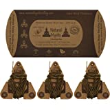 Hemp Wick 3pcs Set: 20ft EACH (60ft Total) Natural Mystic Beeswax Hemp Wick POCKET SIZE ~ PERFECT Wick Stiffness For Flame Pl