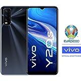 """vivo Y20s Dual Nano Sim 4G Smartphone, 128GB, 6.51"""" Halo FullView Display (Obsidian Black)"""