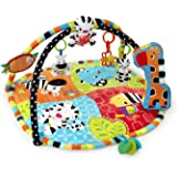 Bright Starts Start Your Senses Safari Activity Gym, Spots and Stripes (Older Version) (Discontinued by Manufacturer)
