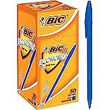BIC Economy Ball Pens Medium Point (1.0 mm) - Blue, Box of 50