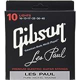 Gibson SEG-LP10 エレキギター弦 Les Paul ライトゲージ レスポール 010-046 (ギブソン)