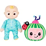 """CoComelon JJ and Melon Plush Stuffed Animal Toys, 2 Pack - 8"""" Plush - for Ages 18 Months and up"""