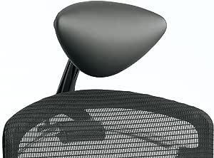 オカムラ デスクチェア オフィスチェア コンテッサ セコンダ オプションパーツ 小型可動ヘッドレスト ネオブラック CC501Y-G721
