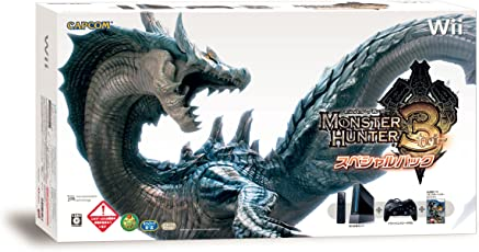 モンスターハンター3 (トライ) スペシャルパック (「Wii (クロ) (「Wiiリモコンジャケット」同梱) 」&「クラシックコントローラPRO (クロ) 」同梱) 【メーカー生産終了】