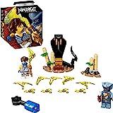 LEGO NINJAGO Epic Battle Set – Jay vs. Serpentine 71732 Building Kit; Ninja Playset Featuring Spinning Battle Toy, New 2021 (