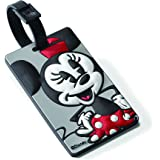 American Tourister Minnie Mouse Id Tag, Minnie Mouse (Black) - 74445-4451