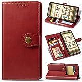 au KYOCERA KYV43 BASIO3 手帳型 ケース 京セラ BASIO3 KYV43 おしゃれ 革 カード入…