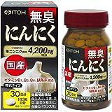 井藤漢方製薬 国産無臭にんにく 約30日分 400mgX90粒
