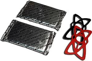 スマホ用過熱防止保冷剤【不燃性】PCM-PAC C32-150g 2個セット ラバーバンド付 (カバー無し・バンド付き)