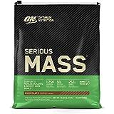 Optimum Nutrition Serious Mass Gainer Protein Powder, Chocolate, 12 Pound