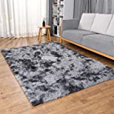 Ophanie Upgraded Machine Washable Area Rugs for Living Room, Ultra-Luxurious Soft and Thick Faux Fur Shag Rug Non-Slip Carpet