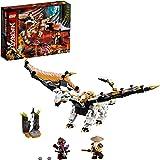 LEGO NINJAGO Wu's Battle Dragon 71718 Ninja Battle Set Building Kit Featuring Buildable Figures (321 Pieces)