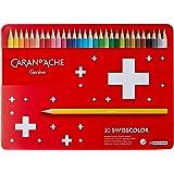 カランダッシュ スイスカラー色鉛筆 30色セット 缶入 1285-730 [日本正規品]