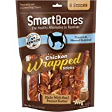 Smartbones Chicken-Wrapped Sticks for Dogs with Real Peanut Butter, 8 Count