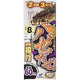 ハヤブサ(Hayabusa) ハゼだぜ 簡単投げ 2本鈎3セット 7-1 NT601-7-1
