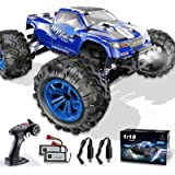 Soyee RC Cars 1:10 Scale RTR 46km/h High Speed Remote Control Car All Terrain Hobby Grade 4WD Off-Road Waterproof Monster Tru