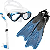 Cressi Palau Long Mask Fin Snorkel Set