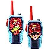 Ryans World Walkie Talkies for Kids, 2 Way Radio Long Range, Light, Sound Effects Kids Toys & Handheld Kids Walkie Talkies, T