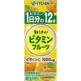 伊藤園 ビタミンフルーツ 1日分のビタミン 紙パック 200ml ×24本
