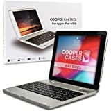 Cooper Kai SKEL P1 [Bluetooth Wireless Keyboard] Case for iPad 4, iPad 3, iPad 2 | Clamshell Cover, 2800mAh Power Bank, 60HR