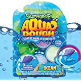 Aqua Dough Underwater Shark by Horizon Group USA, Create Your Own Water Toys That Stretch, Mold, Float & Change Colors, Water