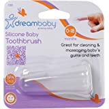 Dreambaby Silicone Finger Toothbrush, 1 Count, Clear (L309)