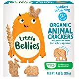 Little Bellies Organic Animal ers for 12+ Months, 4.58 Ounce, Pack of 5