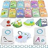 Femtos フラッシュカード 英単語 幼児 12種セット 306枚 英語カード 知育玩具 専用ケース入り かわいい モンテッソーリ (12種セット中1セットのみ)