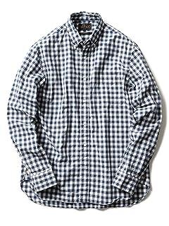 Typewriter Check Buttondown Shirt 11-11-2467-139: White