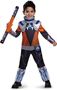 Disguise Miles Chrome Classic Toddler Miles From Tomorrowland Disney Costume, Large/4-6 by Disguise