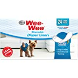Four Paws Wee Wee Dog Diaper Garment Pads 24 Count