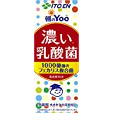 伊藤園 朝のYoo 濃い乳酸菌 (紙パック) 200ml ×24本