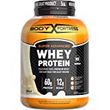 Body Fortress Super Advanced Whey Protein Powder, Gluten Free, Vanilla, 5 Lbs