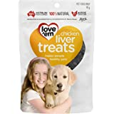Love 'Em Chicken Liver Treats, 90g, Small and Medium, Puppy