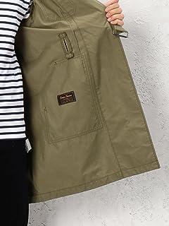Genuin Garment Belted Work Coat 3225-199-2230: Olive