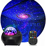 Star Light Projector, KisMee LED Nebula Projector with Galaxy Starry Projector Light Build-in Bluetooth Hi-Fi Stereo Music Sp
