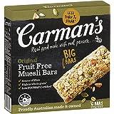 Carman's Muesli Bar Original Fruit Free, 6-Pack (270g)