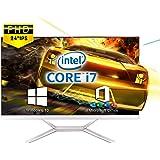 VETESA 2021年モデル 24型フルHD液晶一体型 デスクトップパソコン CPU: Core i7 3615MQ 2.4GHz/【Win 10搭載】【MS Office 2016搭載】メモリー:8GB/SSD:256GB/USB 3.0/無線搭