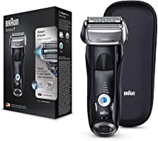Braun Series 7- S7 7842s Electric Shaver for Men, Wet and Dry, Integrated Precision Trimmer, Rechargeable and Cordless...