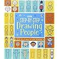 Step-by-Step Drawing Book: People