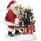 Department 56 Possible Dreams Santa Christmas Traditions Little Helper Figurine, 10 Inch, Multicolor