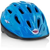 Kids Bike Helmet - Adjustable and Comfortable - Durable Children Bicycle Helmet with Fun Designs Boys and Girls Will Love - F