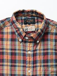 Madras Buttondown Shirt 11-11-3186-139: Beige