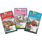 Melissa & Doug On The Go Magicolor Coloring Books Set - Farm Animals, Friends and Fun, Adventure